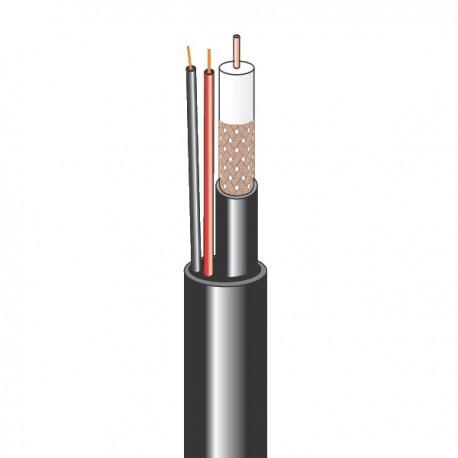 Комбинированный кабель для систем видеонаблюдения внутренний (бухта 200 м)