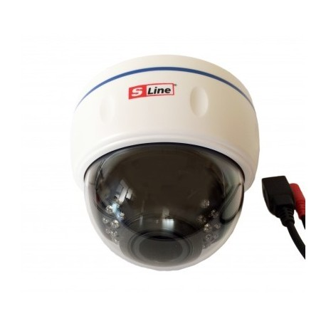 Внутренняя Купольная 2.0мп Ip Камера С Ик Подсветкой (2.8-12mm)