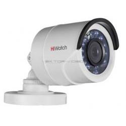 1Мп уличная цилиндрическая HD-TVI камера с ИК-подсветкой до 20м