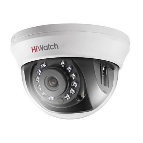 2Мп внутренняя купольная HD-TVI камера с ИК-подсветкой до 20м