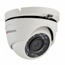 2Мп уличная купольная HD-TVI камера с ИК-подсветкой до 20м