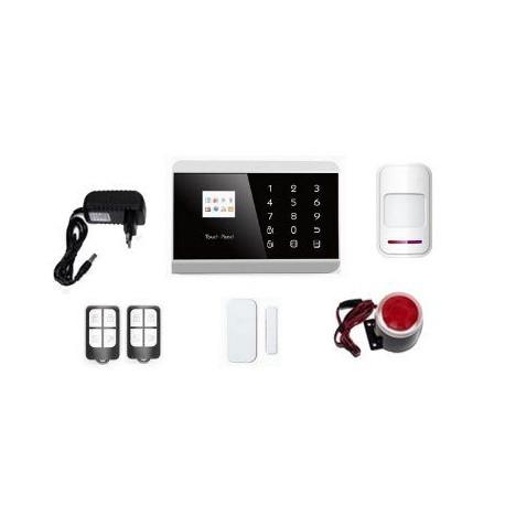 Комплект беспроводной охранно-пожарной GSM+PSTN+CID сигнализации «ЩИТ»