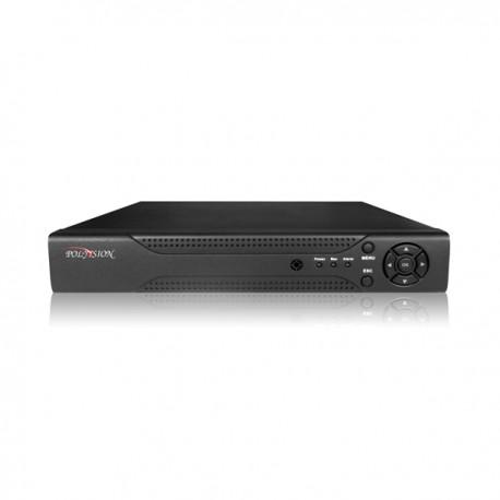 4-канальный мультигибридный видеорегистратор с поддержкой AHD/IP/TVI/CVI/CVBS