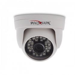 Купольная 1 Мп IP-видеокамера с фиксированным объективом